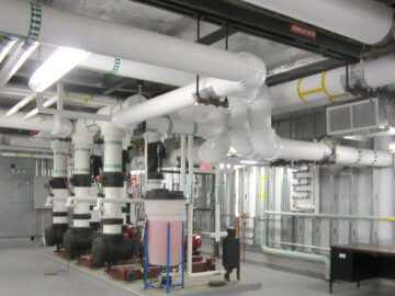 Chilled Water System Piping
