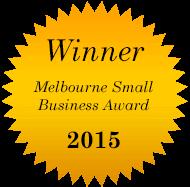 Melbourne Small Business Award Winner